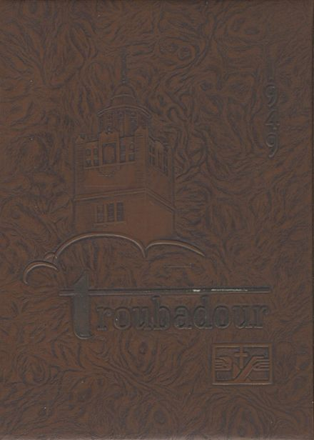 1949 St. Mary's Academy Yearbook Cover