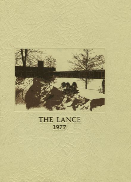 1977 St. Mary's High School Yearbook Cover