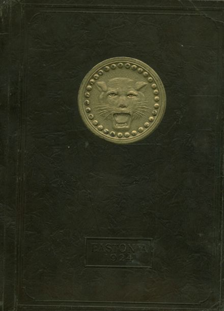 1924 East High School Yearbook Cover