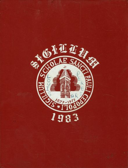 1983 St. Paul's High School Yearbook Cover