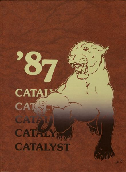 1987 Julian High School Yearbook Cover