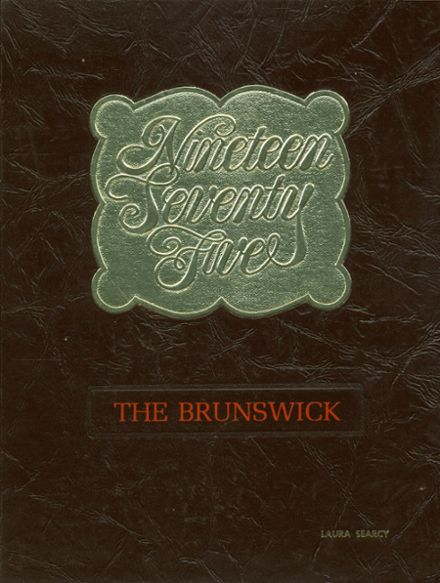 1975 Brunswick High School Yearbook Cover