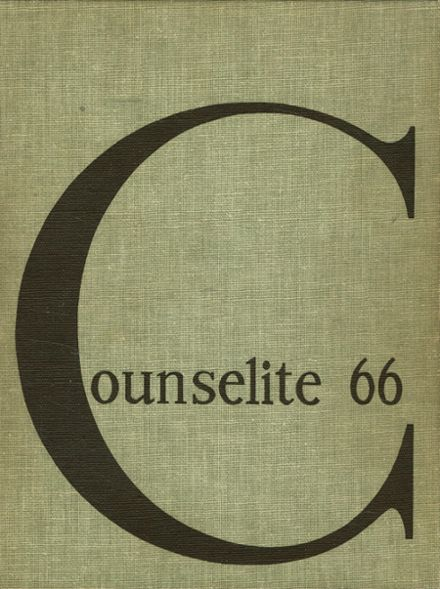 1966 Good Counsel High School Yearbook Cover