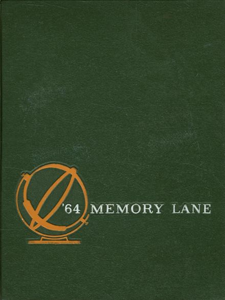 1964 Washington High School Yearbook Cover