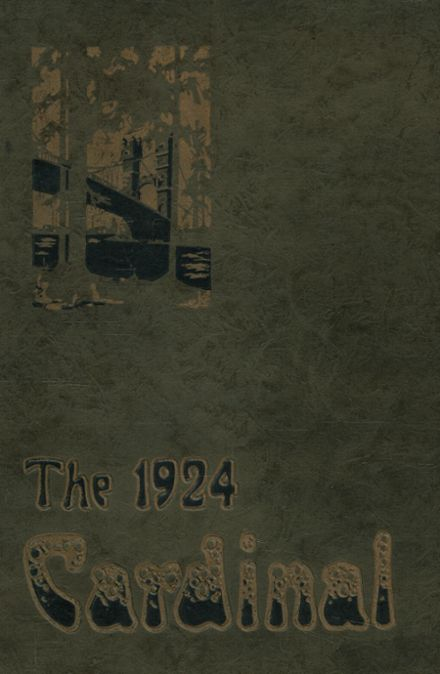 1924 East Side High School Yearbook Cover