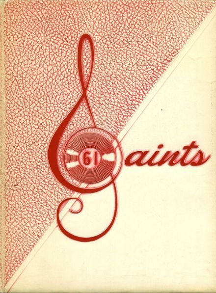 1961 Santa Maria High School Yearbook Cover