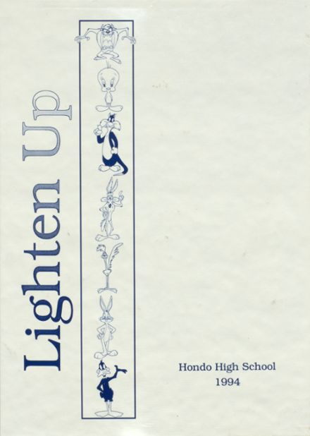 1994 Hondo High School Yearbook Cover