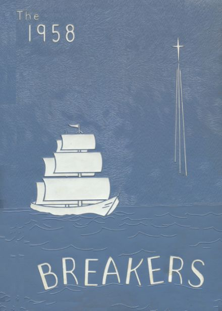 1958 Ilwaco High School Yearbook Cover