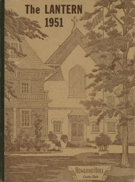 1951 Rowland Hall-St. Mark's High School Yearbook Cover