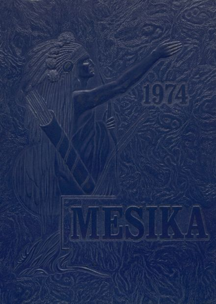 1974 Meadowdale High School Yearbook Cover
