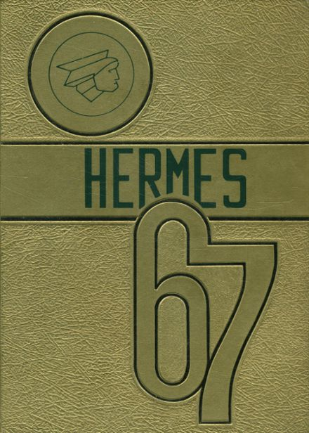 1967 Hudson Falls High School Yearbook Cover