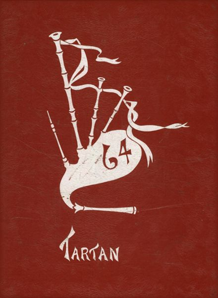 1964 North Eugene High School Yearbook Cover