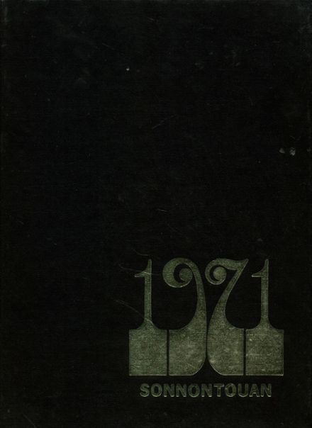 1971 Wellsville High School Yearbook Cover