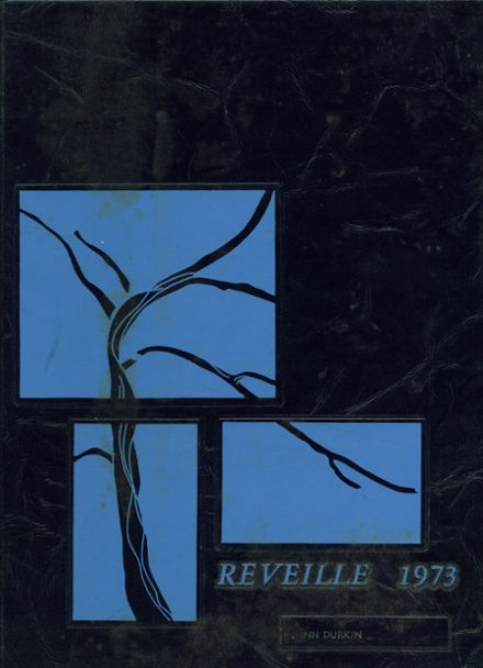 1973 Thomas High School Yearbook Cover