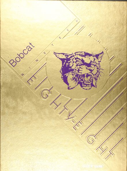 1988 Dumas High School Yearbook Cover