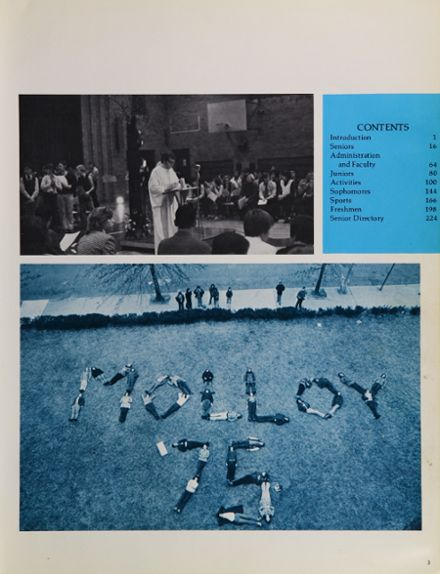 1975 Archbishop Molloy High School Yearbook Page 7