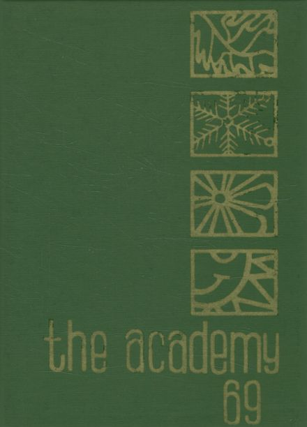 1969 St. Joseph's Academy Yearbook Cover