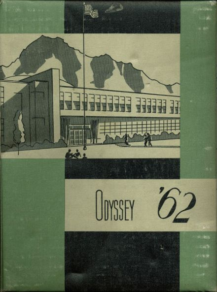 1962 Olympus High School Yearbook Cover