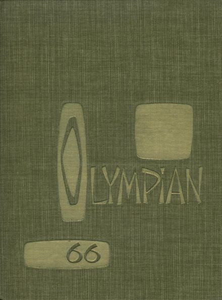 1966 O'Dea High School Yearbook Cover