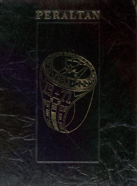1971 St. Mary's College High School Yearbook Cover