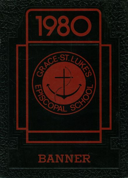 1980 Grace-Saint Luke's Episcopal School Yearbook Cover