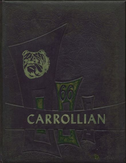 1966 Bloom-Carroll High School Yearbook Cover