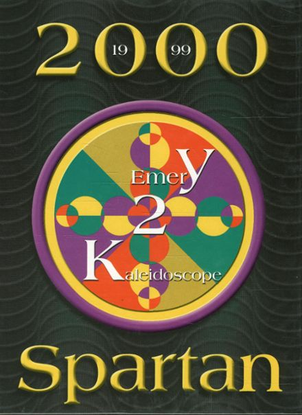 2000 Emery High School Yearbook Cover