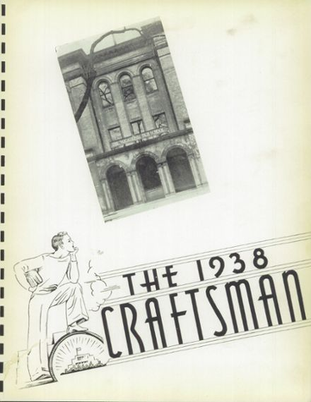 1938 Macomber Vocational High School Yearbook Page 7