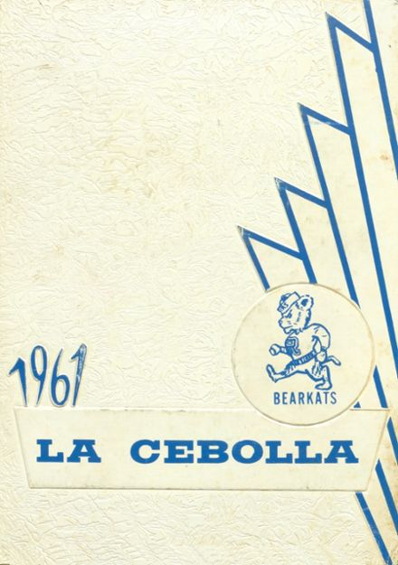 1961 Raymondville High School Yearbook Cover