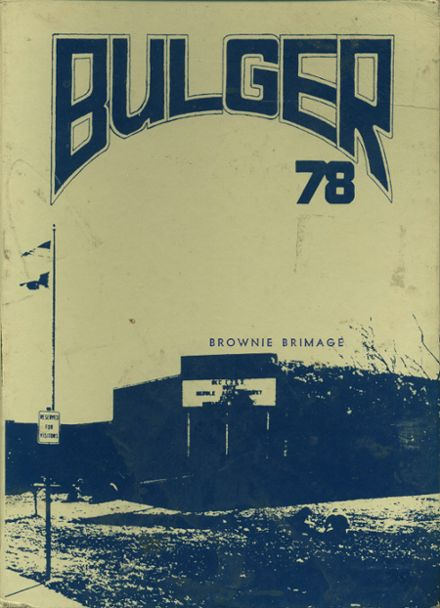 1978 Copperas Cove High School Yearbook Cover