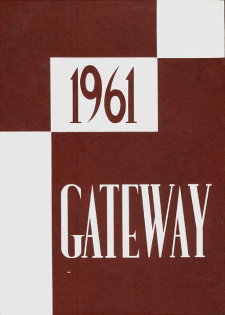 1961 South Hadley High School Yearbook Cover
