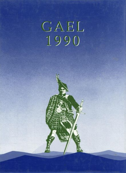 1990 St. Mary's High School Yearbook Cover