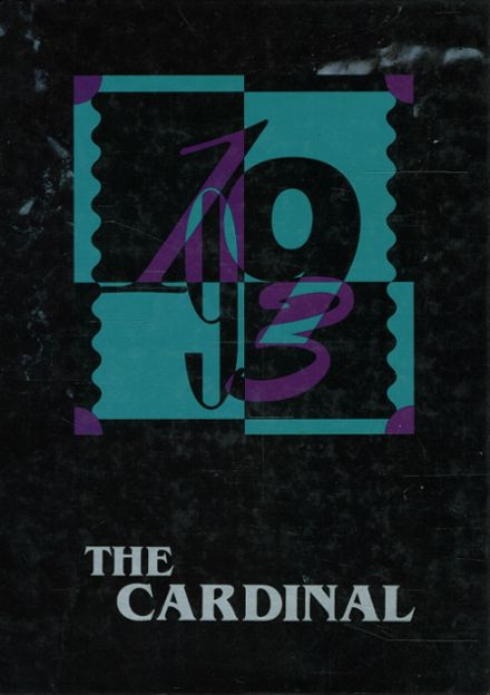 1993 Arlington High School Yearbook Cover