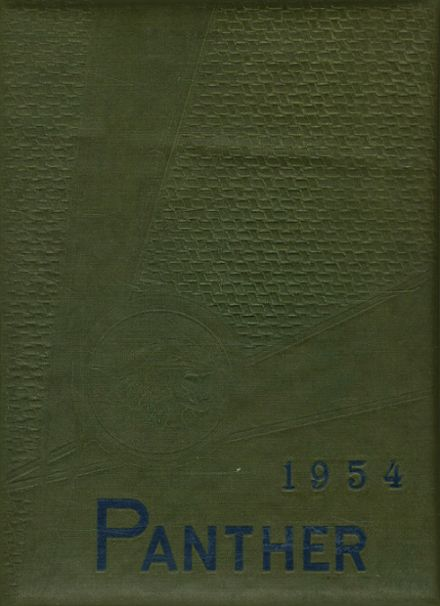 1954 O'Fallon Township High School Yearbook Cover