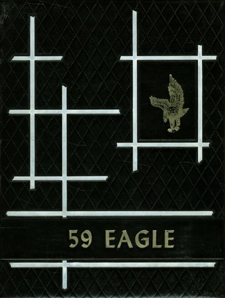 1959 O'Donnell High School Yearbook Cover