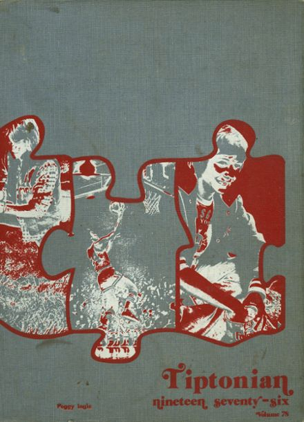1976 Tipton High School Yearbook Cover