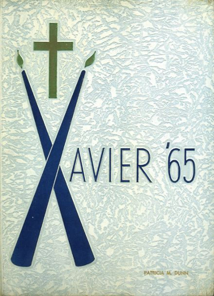 1965 St. Xavier High School Yearbook Cover