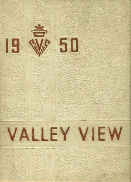 1950 Cassadaga Valley High School Yearbook Cover