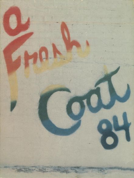 1984 Cuyahoga Falls High School Yearbook Cover