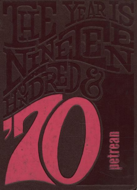 1970 St. Peter's High School Yearbook Cover