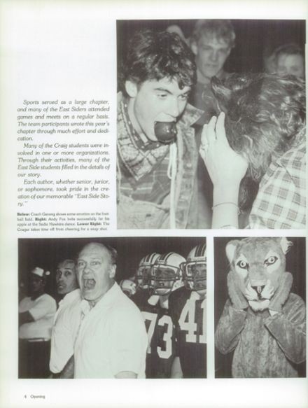 1987 Craig High School Yearbook Page 8