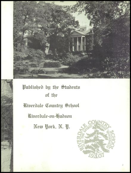 1961 Riverdale Country School Yearbook Page 7
