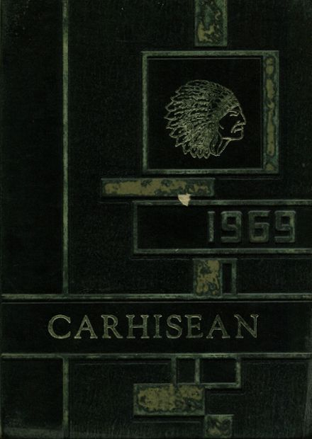 1969 Carrollton High School Yearbook Cover
