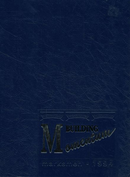 1994 St. Mark's School of Texas Yearbook Cover