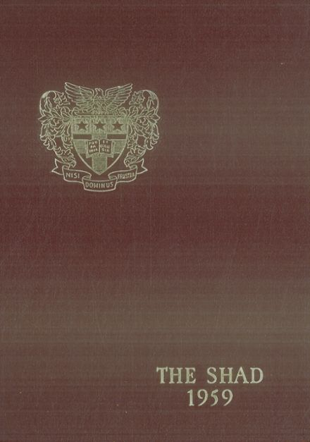 1959 Shattuck - St. Mary's School Yearbook Cover