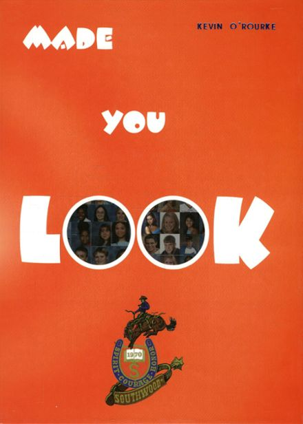 2002 Southwood High School Yearbook Cover