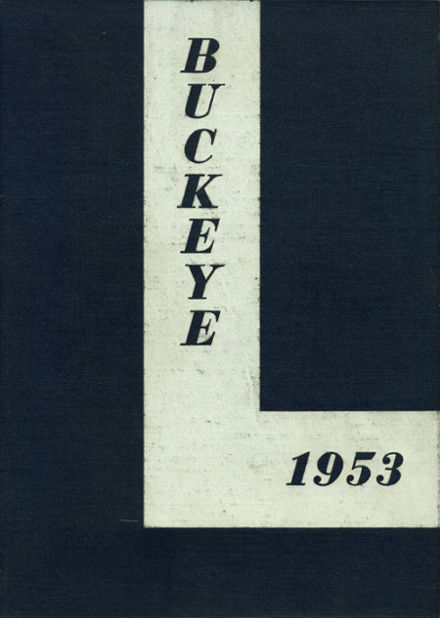 1953 Napoleon High School Yearbook Cover