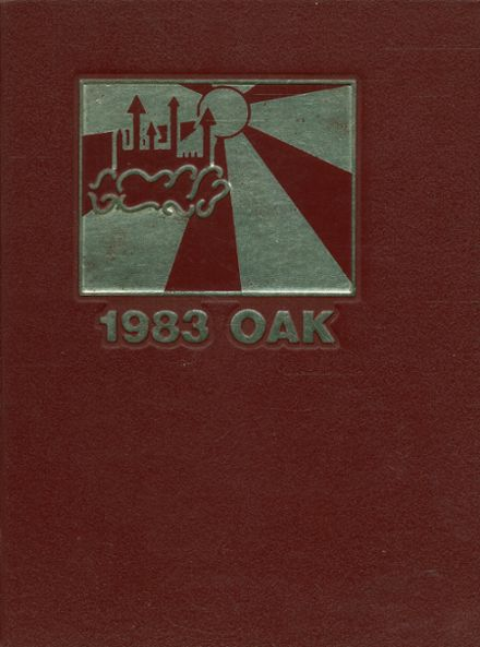 1983 Upper Darby High School Yearbook Cover