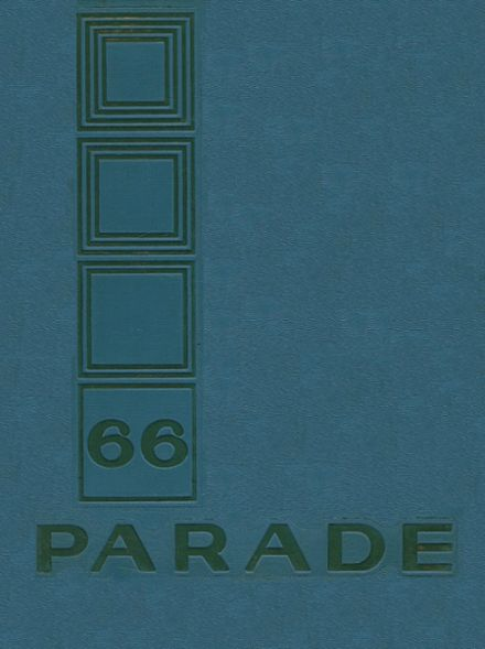 1966 Pershing High School Yearbook Cover