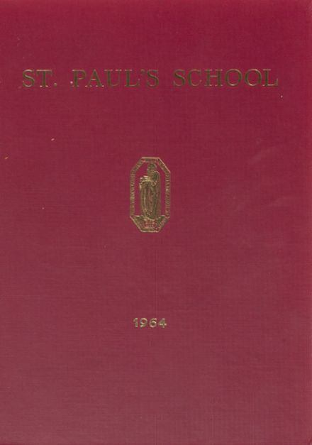1964 St. Paul's School Yearbook Cover